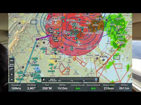 Cessna 310 Departure from KHEF to KRDU with Icing in area 30 March 2018 Part 1 of 2