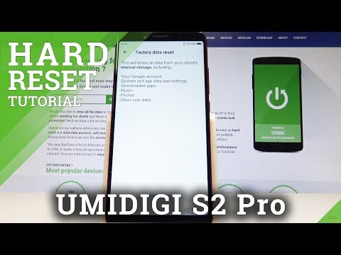 How to Factory Reset UMIDIGI S2 Pro - Wipe Data / Restore Android Defaults