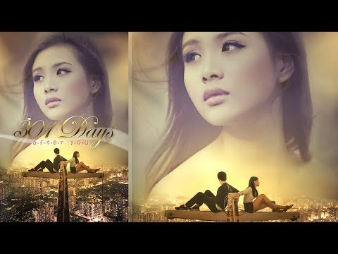 Photoshop Photo Manipulation ~ Romance Movie Poster