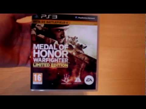 Unboxing | Medal of Honor: Warfighter Edición Limitada | PS3