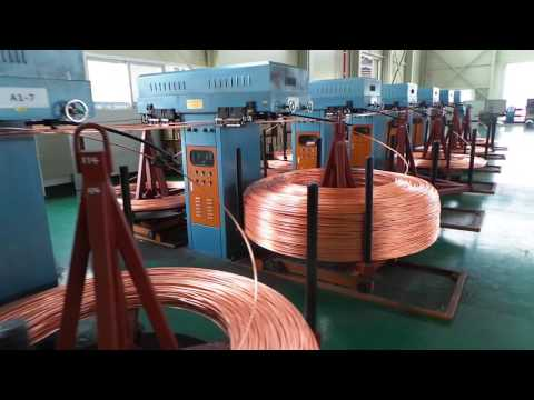6000 tons Copper rods upward casting machines
