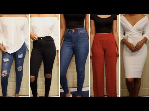 MINIMALIST TRY-ON HAUL FT FASHION NOVA & BOOHOO