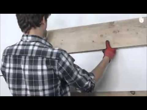 DIY Simple Wood Coat Rack