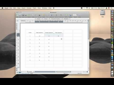 Office For Mac - Excel - Repeat Function