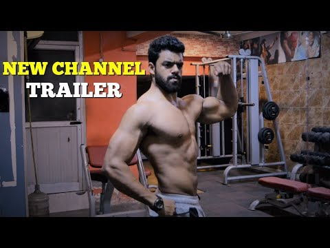 Nikhil Nautiyal Fitness | New Channel Trailer