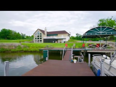 40 +/- Acre Recreational Retreat with Custom Built Home on One Mile Long Strip Mine Lake