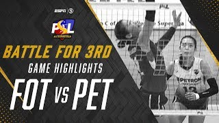 Battle for Bronze - Highlights: Foton vs Petron | PSL All-Filipino Conference 2019