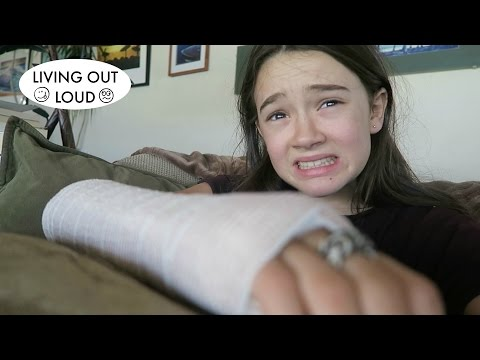 Did I Break My Wrist?!! | Family Life, Fun & Challenges | Living Out Loud Vlog