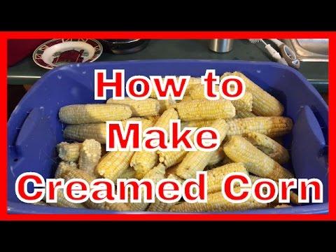 How to Make Creamed Corn | Cut Corn off the Cob at AldermanFarms