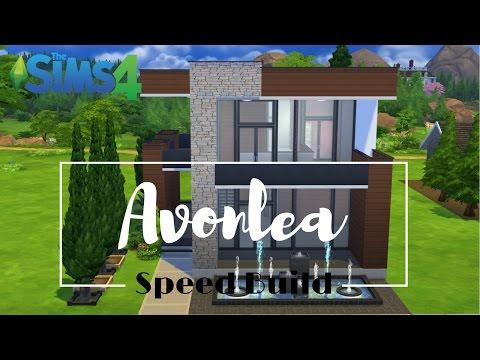 Sims 4 Speed Build - Avonlea Part 1