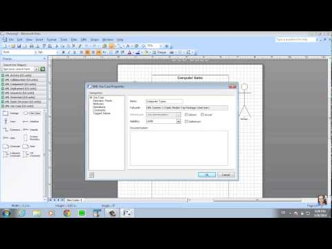 how to create use case in visio 2010