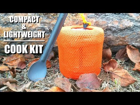 Ultra Lightweight Backpacking Cook Kit