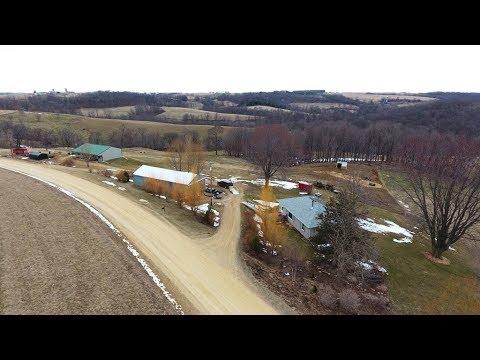 Hilldale Organic Farmette Crawford County WI Real Estate