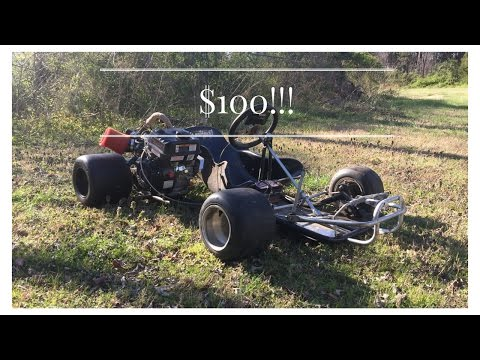 $100 Dollar Racing Go Kart Build Part 1