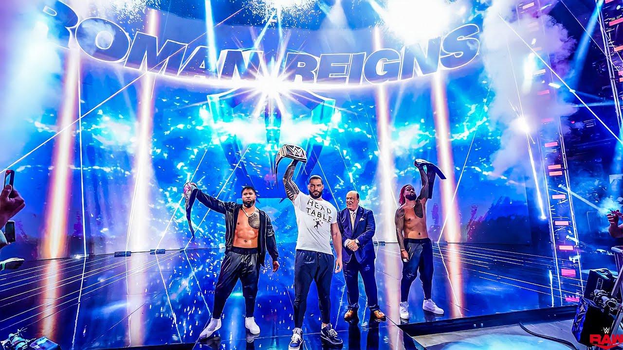 Roman Reigns Entrance: SmackDown, July 23, 2021 - 1080p