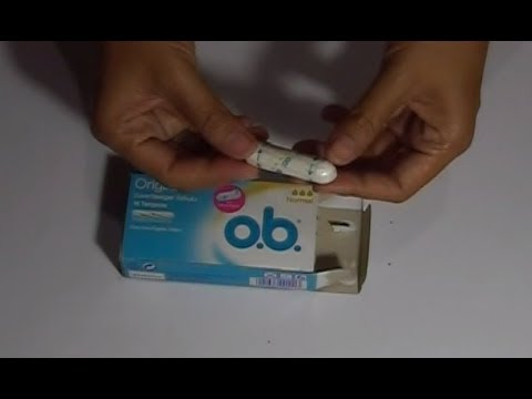 OB Tampons Video