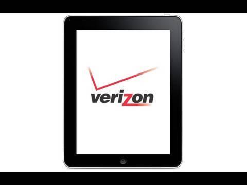 Verizon iPad and New AT&T Data Plans