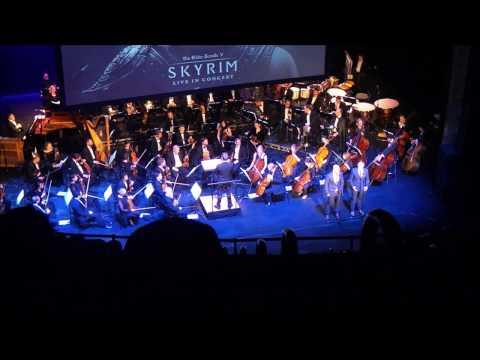 Elder Scrolls Skyrim Concert Live Orchestra Soundtrack Music (Morrowind, Oblivion, Skyrim, Fallout)