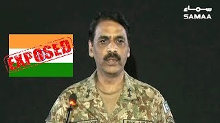 DG ISPR Asif Ghafoor Ka INDIA Ko Jawab | SAMAA TV | 29 April 2019