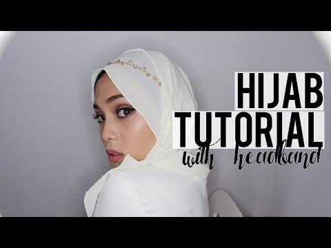 Hijab Tutorial #5 with headband | lissapissa