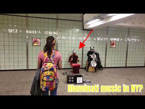 موسيقي التنويريين في نيويورك ؟ - ? Illuminati music in NY