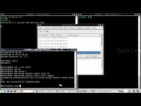 Cisco routers AAA bypass