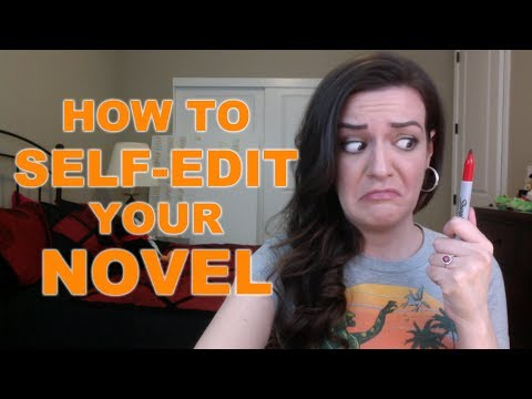 How to Self-Edit Your Novel
