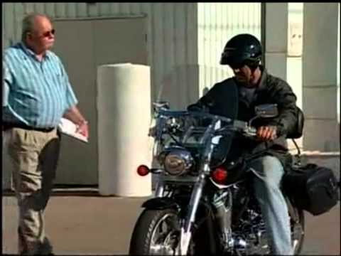 California Motorcycle Driving Test