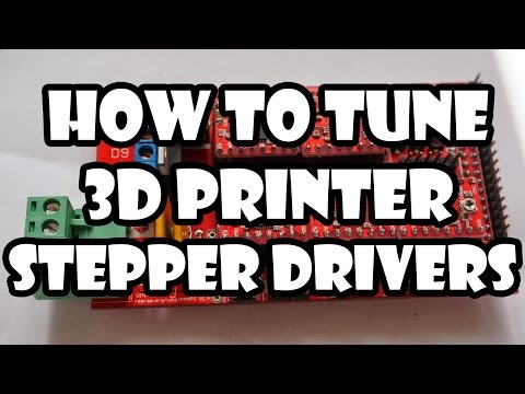 How to Tune 3D Printer Stepper Drivers   RAMPS 1.4/Pololu A4988
