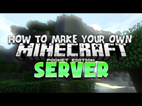 How To Make Your Own Minecraft PE Server - MCPE Tutorial (Pocket Edition)