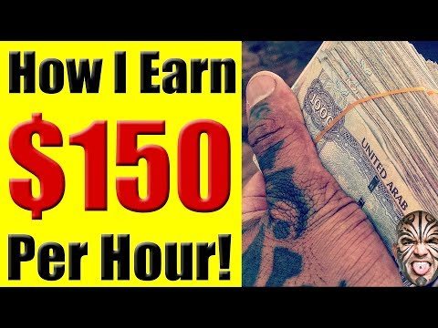 THE SECRET: How To Earn $150 Per Hour As A Freelancer