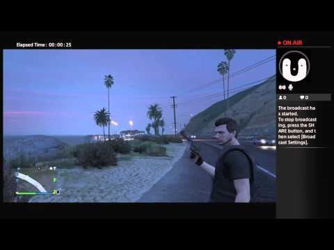 Zombie Gameplay GTA 5 Live PS4 Broadcast
