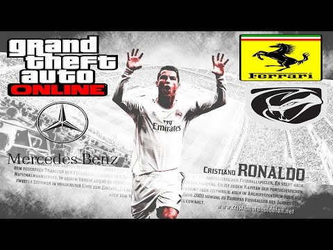 Super Sports Cars For CR7 Cristiano Ronaldo GTA 4 online PC