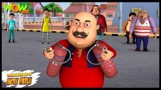 Motu Patlu New Episode | Cartoons | Kids TV Shows | Fire Extinguisher | Wow Kidz