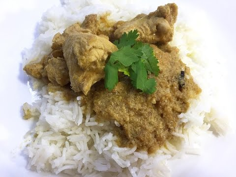 Shan Spice Mix for Chicken White Korma - Easy to follow Recipe