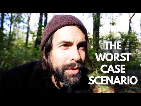 Sitting in the Woods Vlog & the Worst Case Scenario