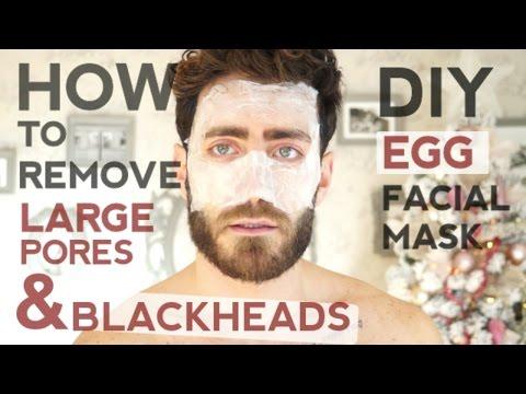 How To Remove Blackheads and Tighten Pores, DIY Facial Mask