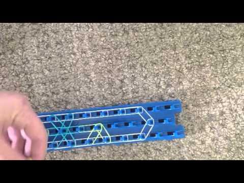 How to make a crazy loom starburst bracelet part one