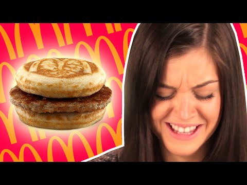 People Try McDonald's Breakfast For The First Time