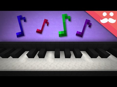 How to make a Working Piano in Survival Minecraft!