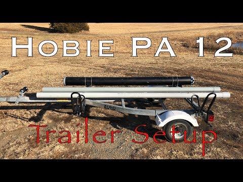 Hobie PA Trailer Setup Jet Ski Trailer Completed