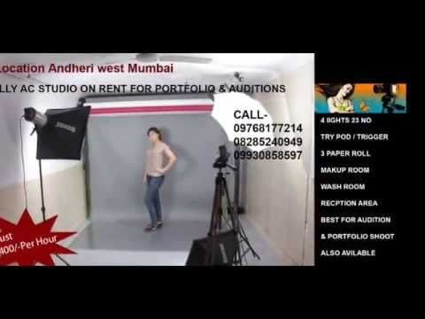 Portfolio & Audition Studio On Hire Andheri West Mumbai 09768177214