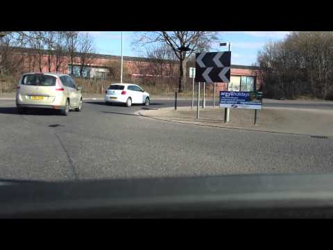 Driving lessons in Glasgow: Standard Roundabouts