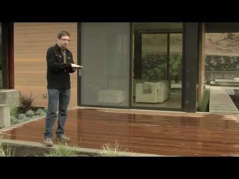 Ipe Wood Deck Design