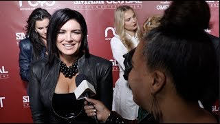 GINA CARANO EXCITED ABOUT STAR WARS ROLE; WORKING WITH THE BEST