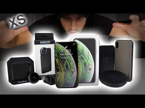iPhone XS Unboxing Space Grey - First Boot, Accessories & Cases - Should you buy the iPhone XS