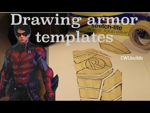 Drawing Armor Templates