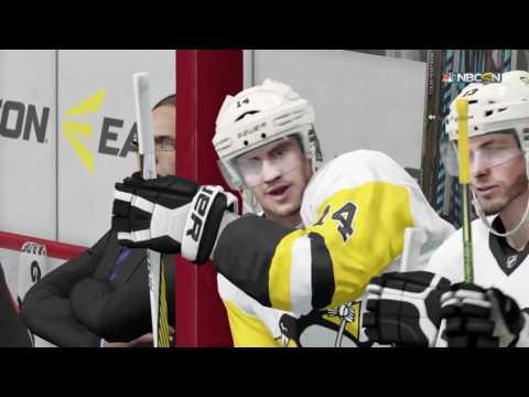 NHL 17 Online goalie Fight