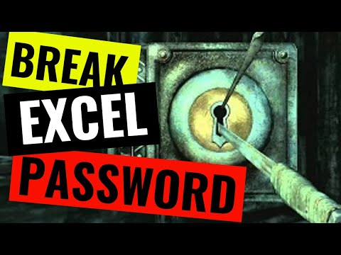 How to remove a password from a protected worksheet or workbook in Excel