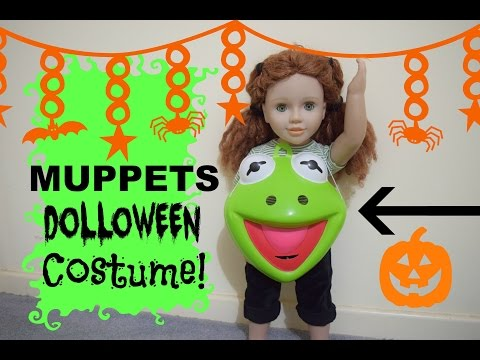 Muppets Dolloween Costume for your AG Doll!